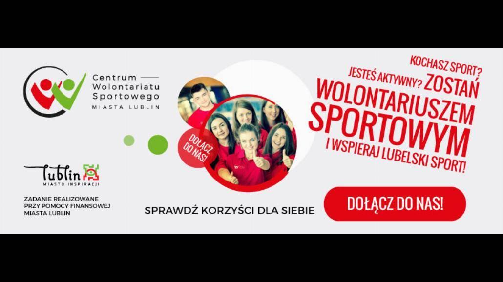 Zostań wolontariuszem sportowym w Lublinie!