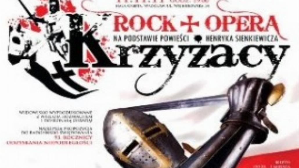 """Rock - Opera """"Krzyżacy"""" w piątek!"""