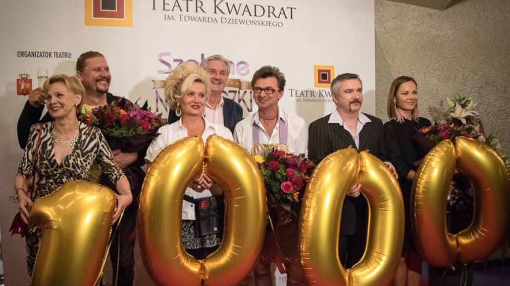 Szalone noÅźyczki Teatr Kwadrat