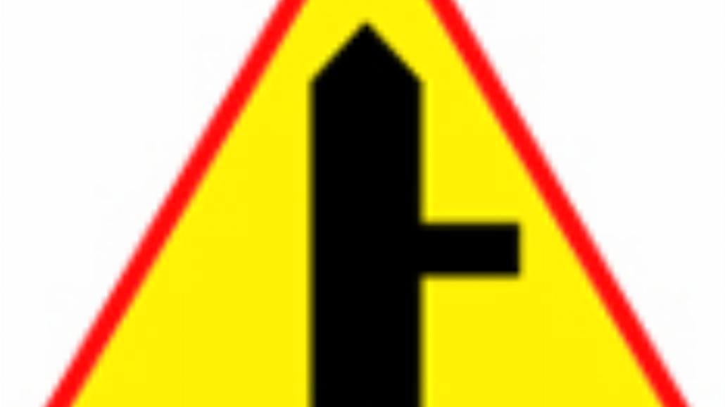 """A-6b """"skrzyżowanie z drogą podporządkowaną występu"""