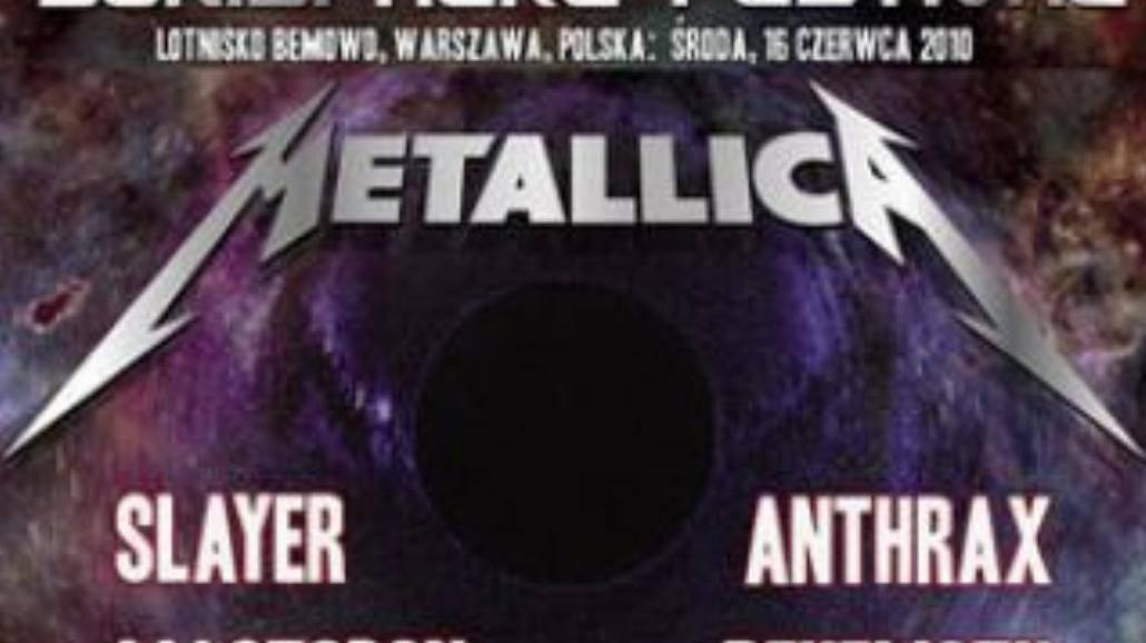Sonisphere Festival: Wielka Czwórka w stolicy