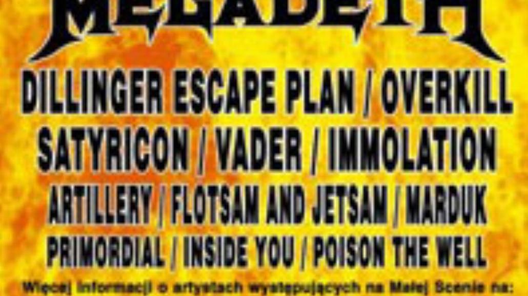 Megadeth największa gwiazdą Metalmanii