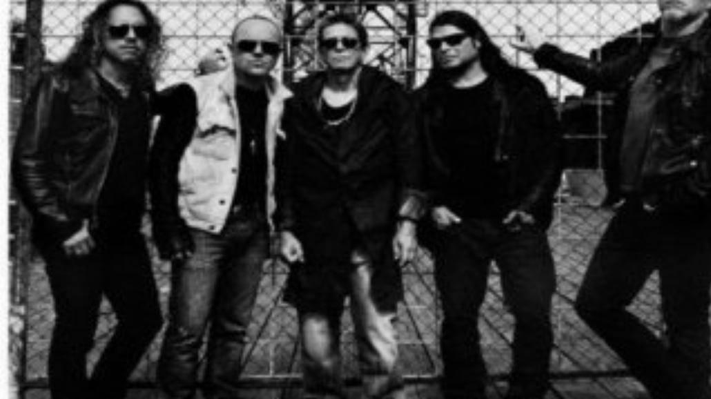 Posłuchaj wspólnej płyty Metalliki i Lou Reeda!