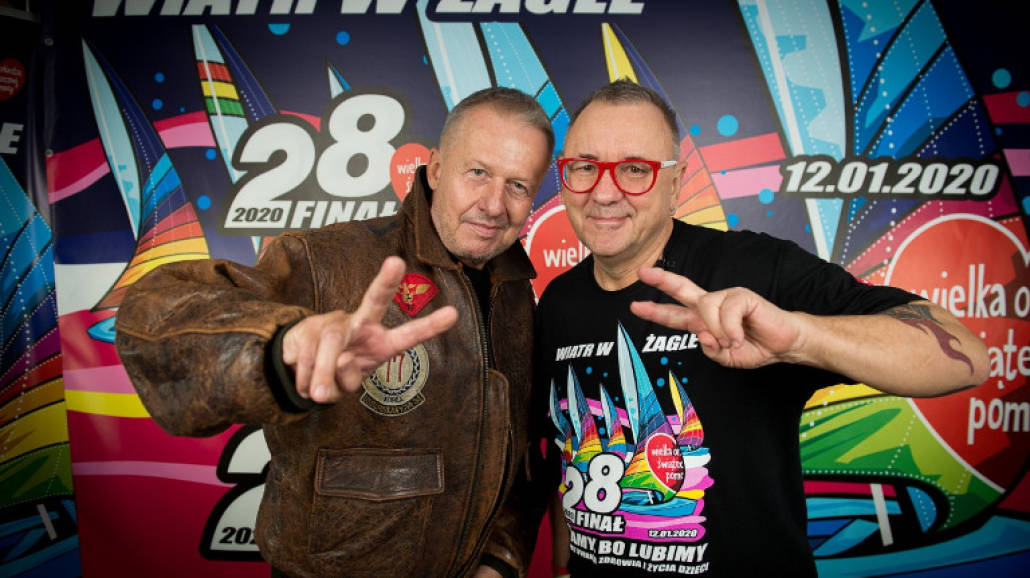 Bogusław Lina i Jurek Owsiak