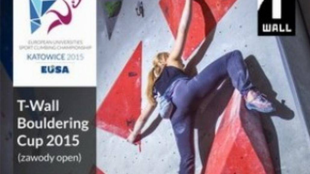 T-Wall Bouldering Cup w ramach AME we Wspinaczce Sportowej
