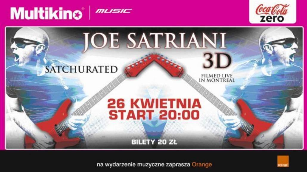 Joe Satriani w 3D