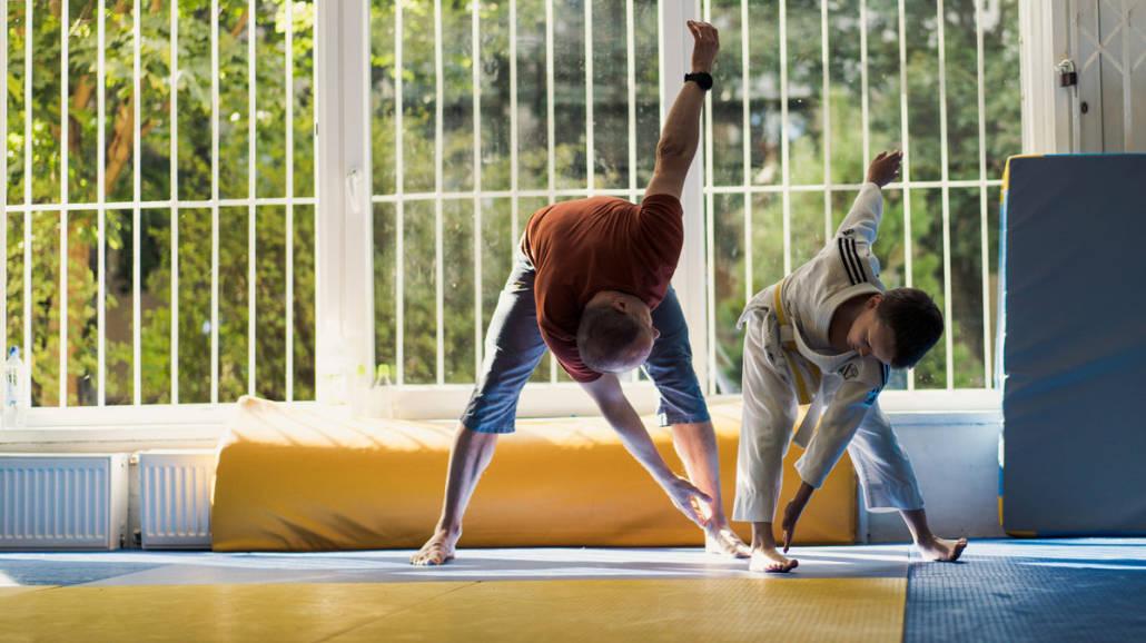 Narodowy Dzień Sportu - trening judo