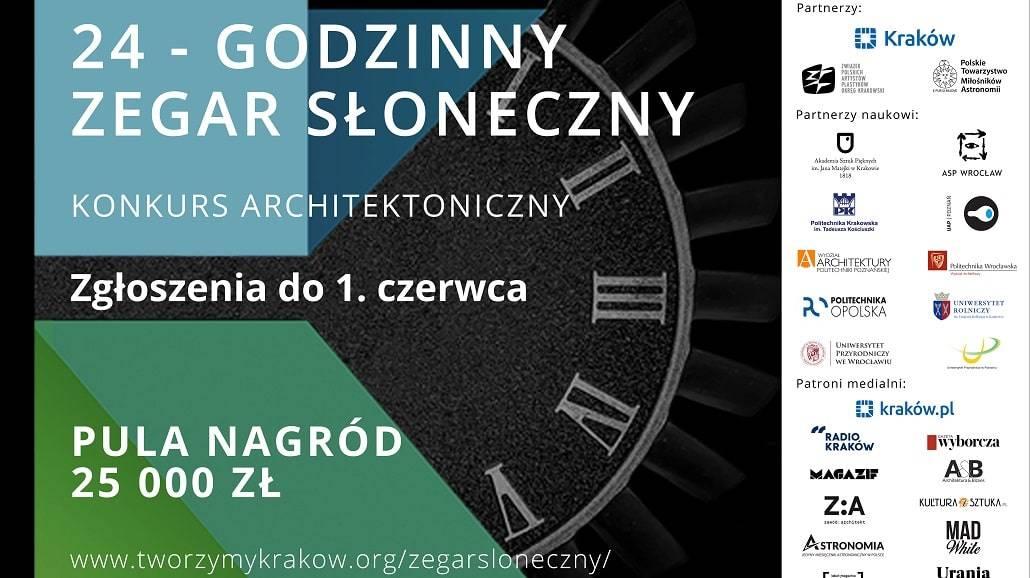 24-godzinny Zegar Słoneczny - nowy termin zgłoszeń