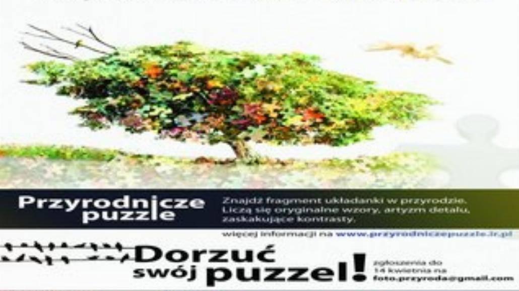 Poszukiwani łowcy przyrodnicznych puzzli