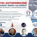 """Webinarium """"Statki autonomiczne - przyszłość daleka czy bliska? Możliwości techniczne, a uwarunkowania prawne"""" - Webinar, Webinarium, Statki autonomiczne,  Akademia Morska w Szczecinie, Czerwiec 2020"""