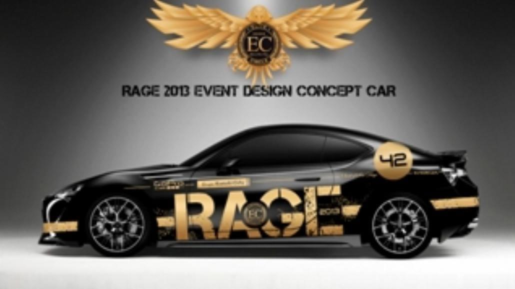 Rage 2013. Święto samochodowe już za miesiąc