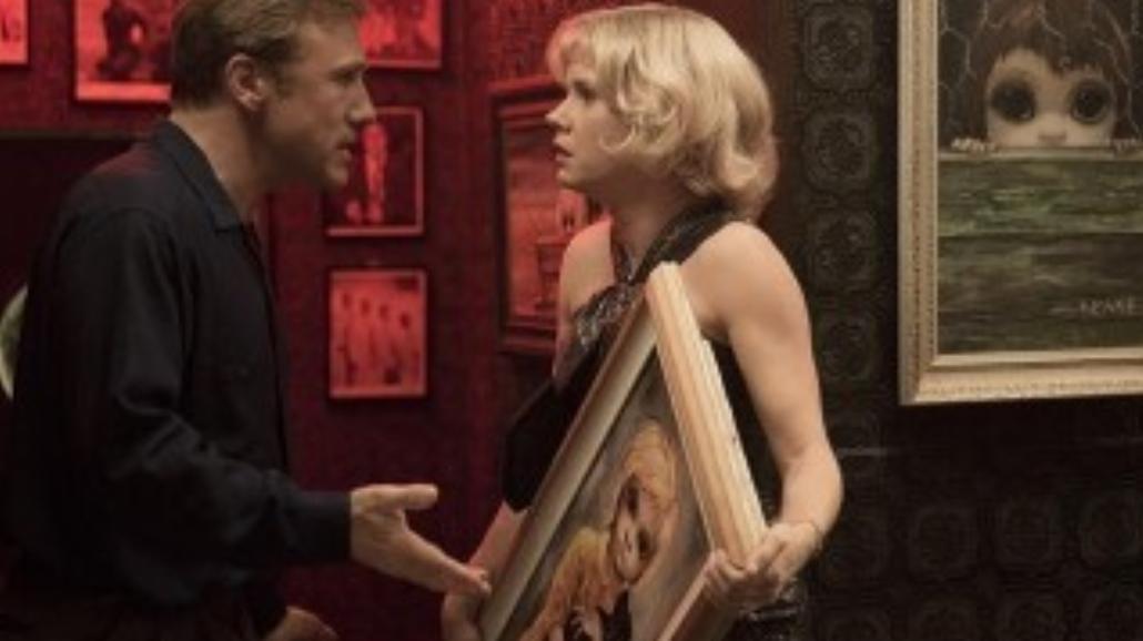 Wielkie oczy: Christoph Waltz okrada Amy Adams
