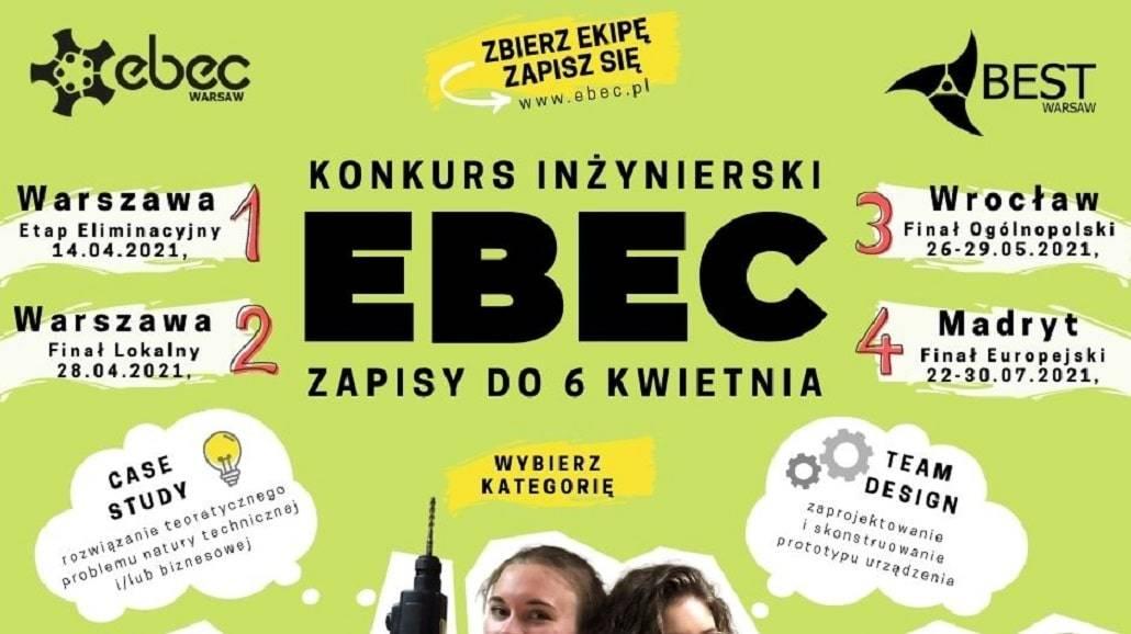 EBEC Warsaw 2021 - konkurs