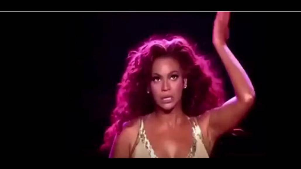 Beyonce tańczy kaczuszki! Zobacz film! [WIDEO]