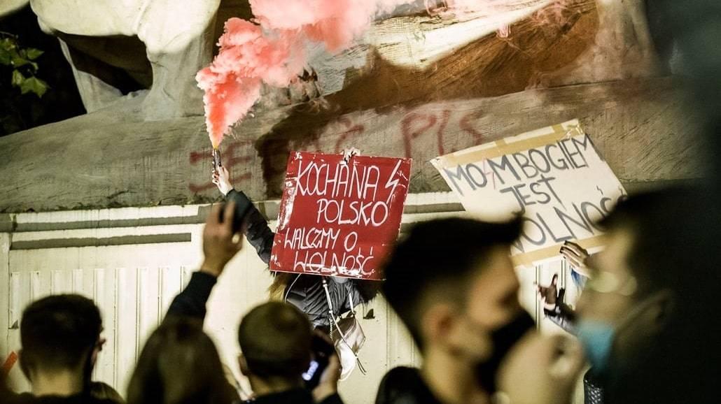 Zdjęcia z protestÃłw we Wrocławiu
