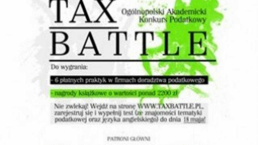 "Konkurs ""Tax Battle"""