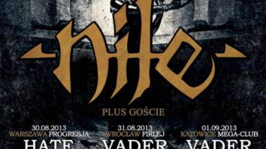 Nile, Vader i Trauma w Firleju
