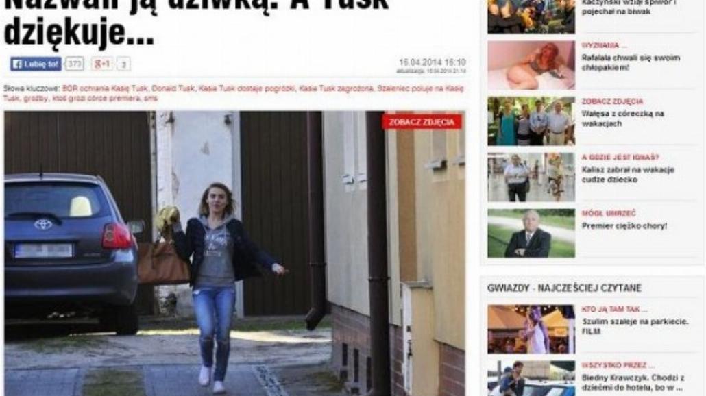 Kasia Tusk pozywa tabloid za wulgarny tytuł