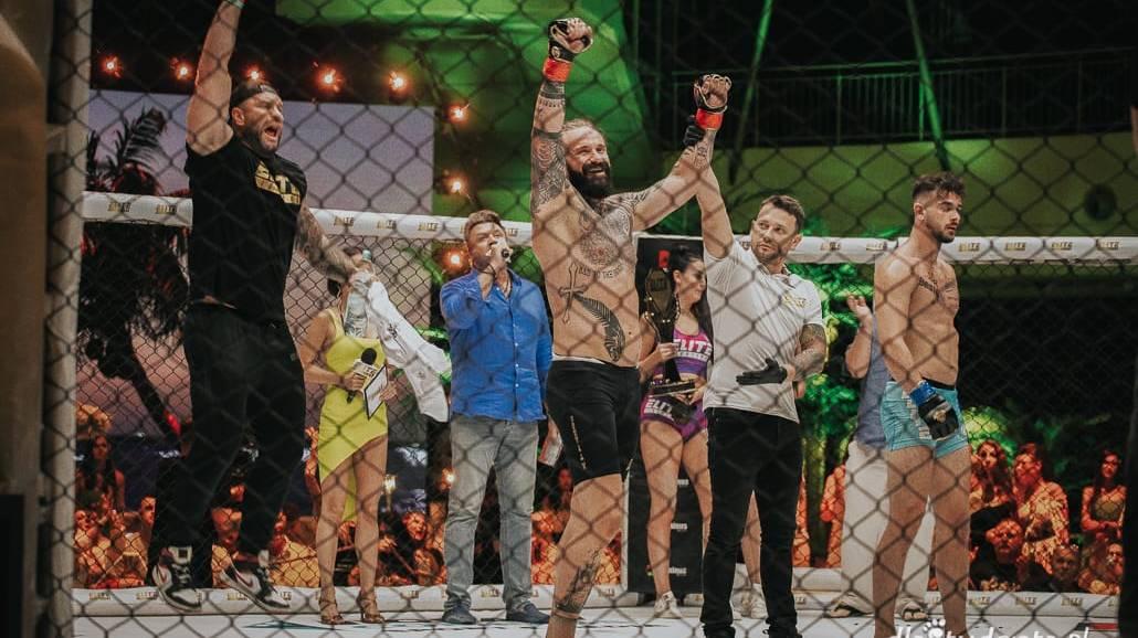 Zdjęcie z gali Elite Fighters