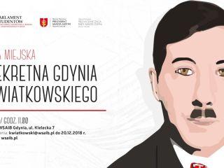 Śladami Kwiatkowskiego po Gdyni  - gra miejska - gra miejska, zgłoszenia, weekend, uroczystość