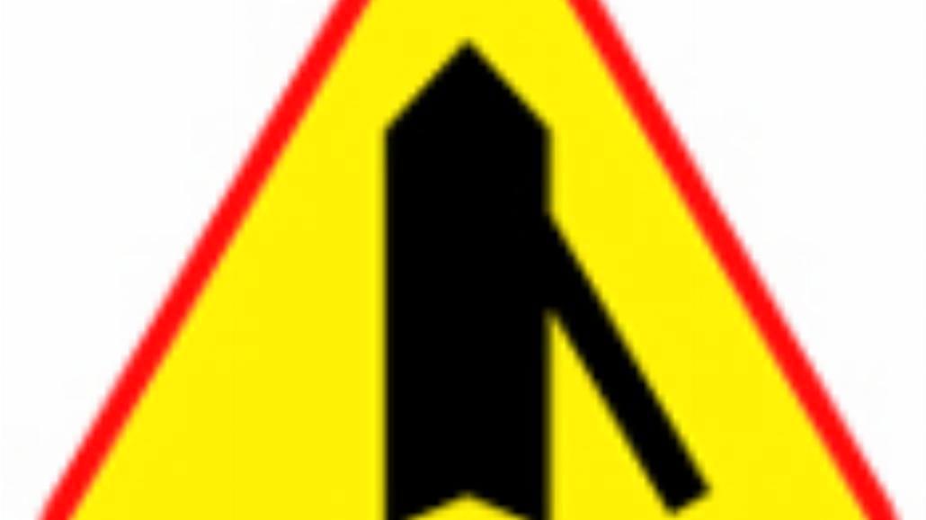 """A-6d """"wlot drogi jednokierunkowej z prawej strony"""""""