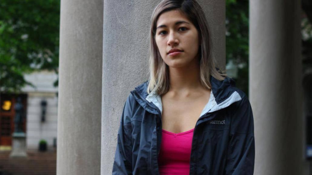Nietypowy protest zgwałconej studentki