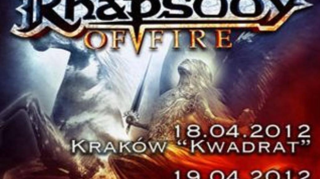 Dwa koncerty Rhapsody of Fire w Polsce!