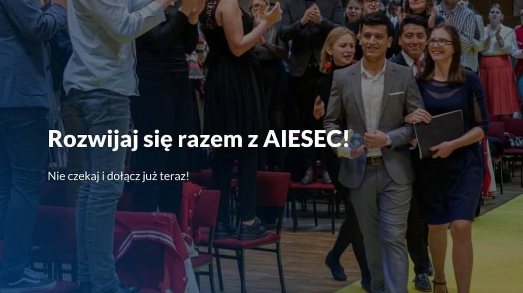Rekrutacja AIESEC 2020