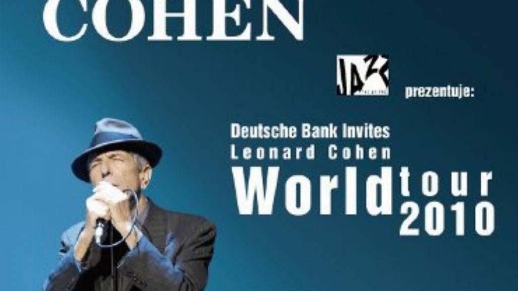 Dzisiaj koncert Leonarda Cohena!