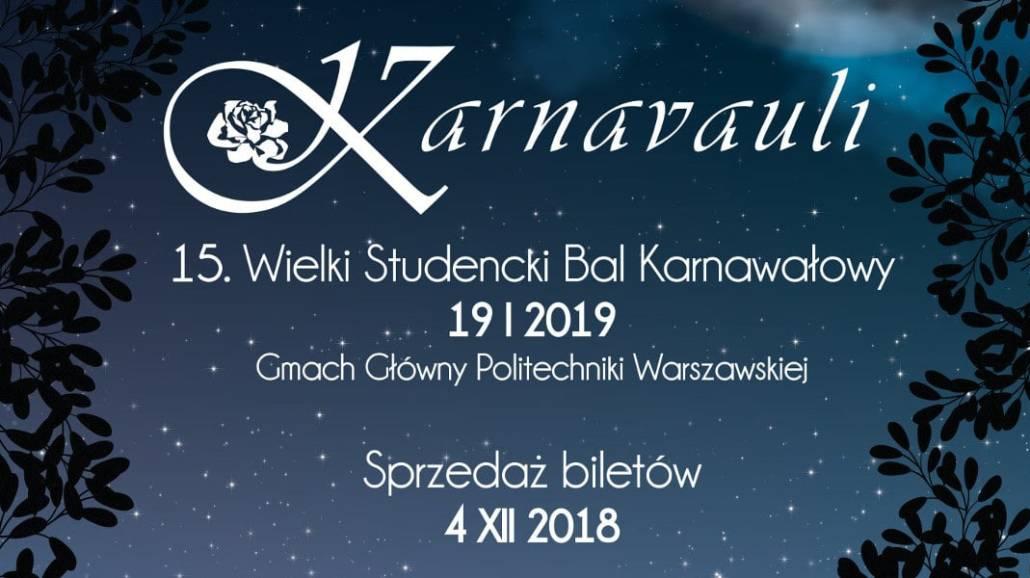 Bal odbędzie się 19 stycznia 2019 roku.