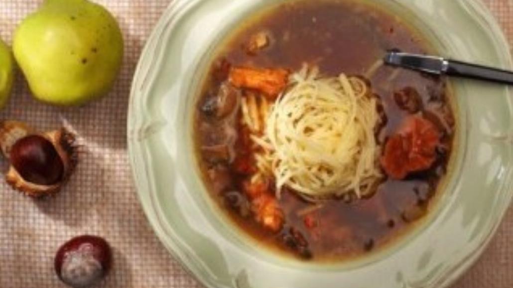 Zupa grzybowa - przepis