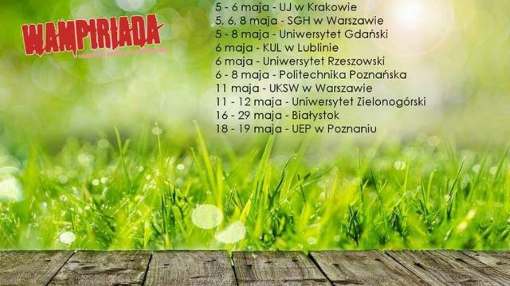 Studenci z całej Polski oddadzą krew [PROGRAM]