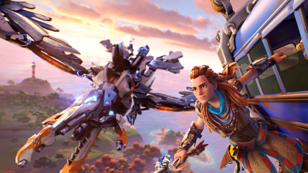 Aloy z Horizon Zero Dawn
