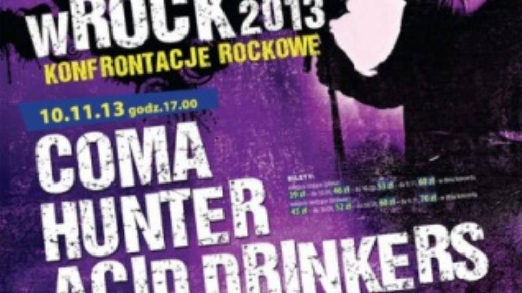 Konfrontacje Rockowe wROCK 2013