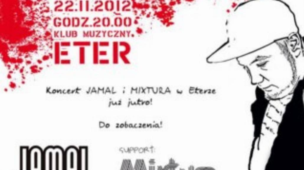 Jamal i Mixtura w czwartek we Wrocławiu!