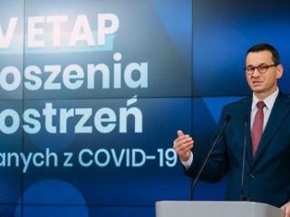 4. etap odmrażania gospodarki w Polsce: bez maseczek na powietrzu - koronawirus, zasady, wytyczne, od czerwca 2020, Mateusz Morawiecki