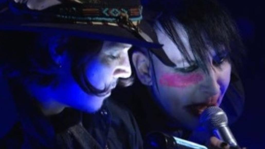 Johnny Depp wystąpił z Marilynem Mansonem
