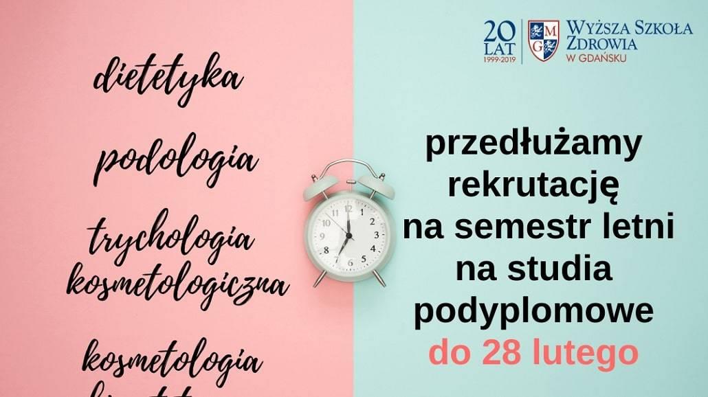 WSZ Gdańsk rekrutacja luty 2021