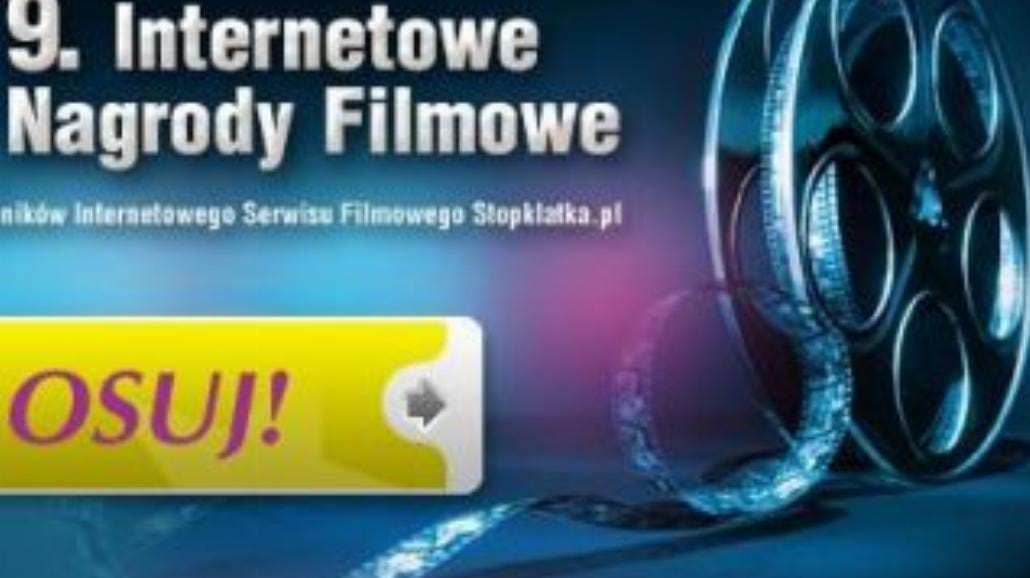 Przyznaj Internetowe Nagrody Filmowe!