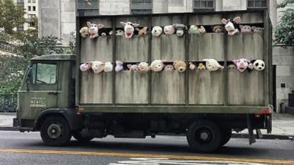 Nowa instalacja Banksy`ego