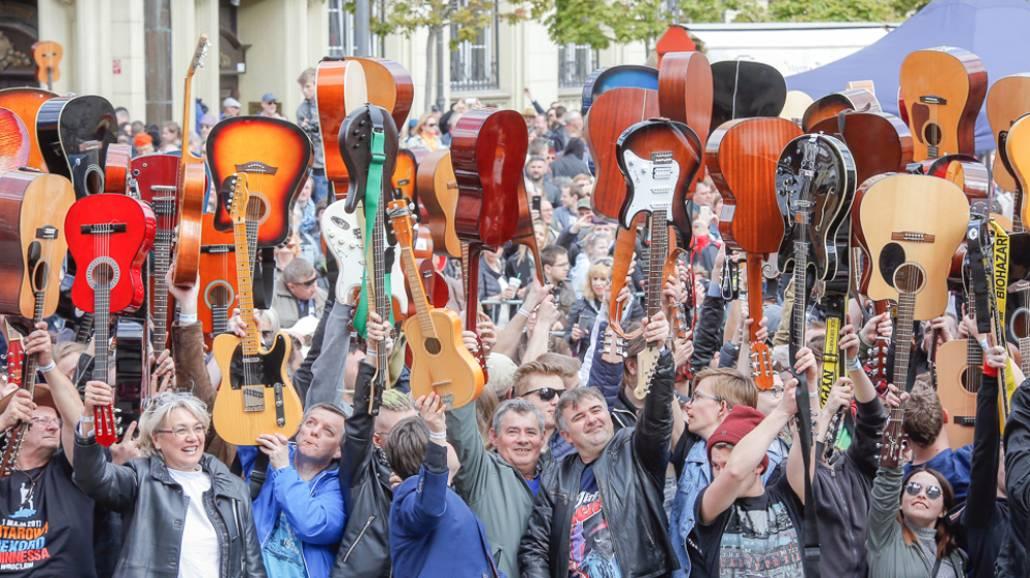 Gitarowy rekord Wrocław
