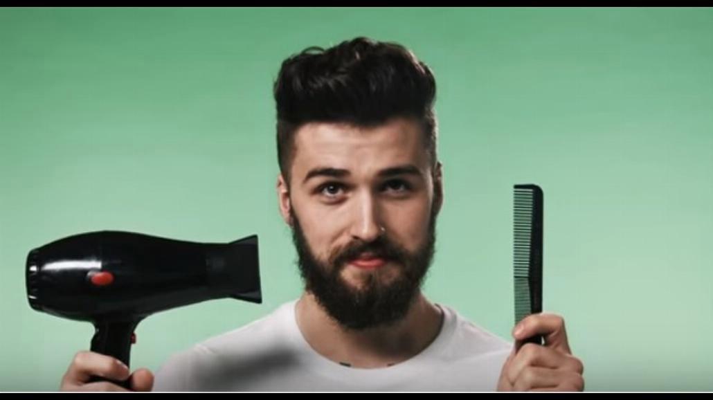 Jak podcinać idealnie brodę? Zobaczcie zabawny filmik [WIDEO]