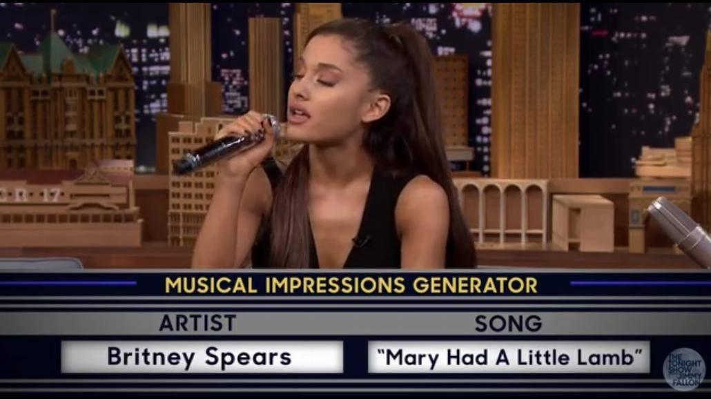 Ariana Grande posiada wyjątkowy talent! Doskonale naśladuje inne gwiazdy [WIDEO]