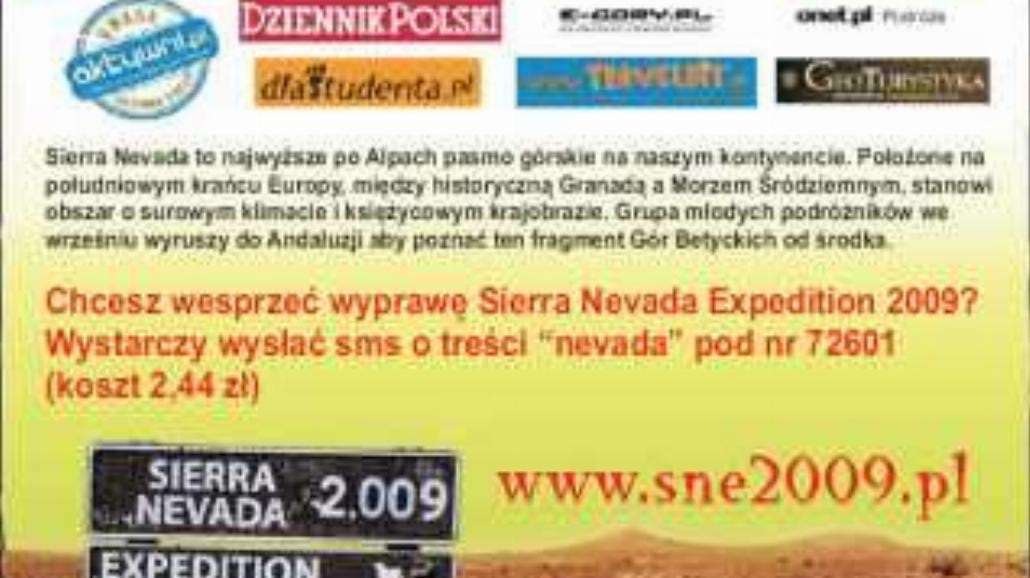 Sierra Nevada Expedition 2009