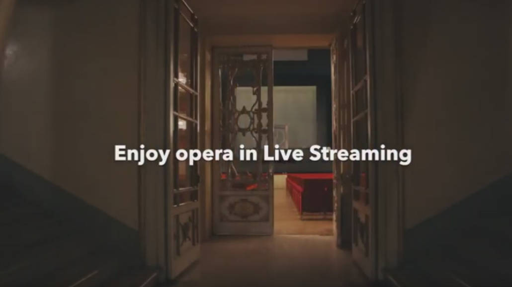 opera streaming - spektakle online