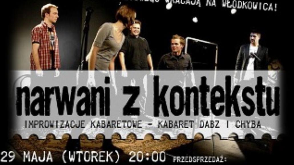 Kabaretowe wydarzenie na Włodkowica 21