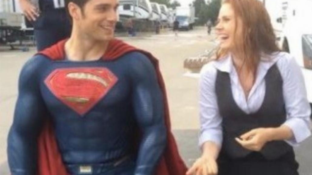 Batman v Superman: Henry Cavill i Amy Adams podjęli wyzwanie!