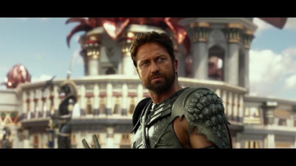 "Gerard Butler w superprodukcji fantasy ""Bogowie Egiptu"" [WIDEO]"