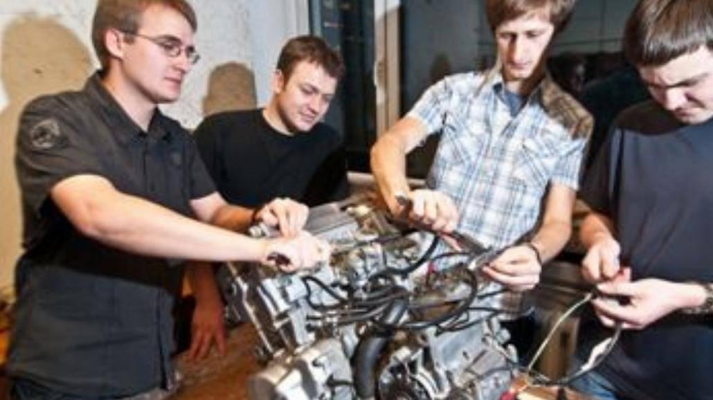 Polscy studenci budują bolid w stylu F1