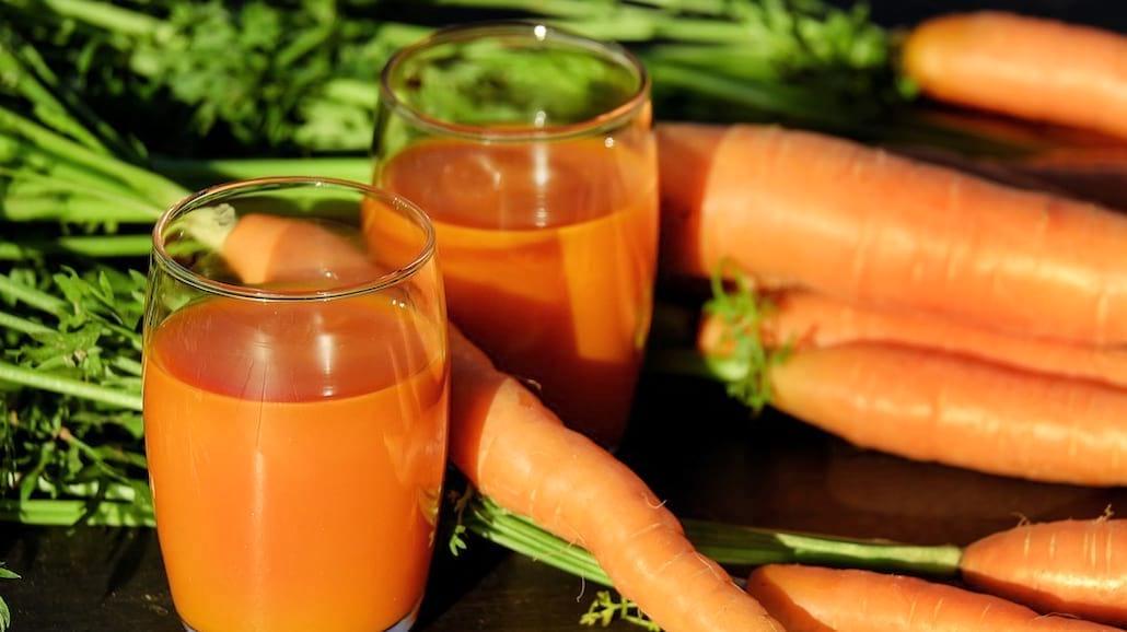 Koktajl z marchewki na poprawę koloru skóry